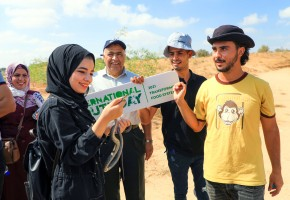 "SYFs makes an environmental tour in ""Juhr al-Deek"" area"